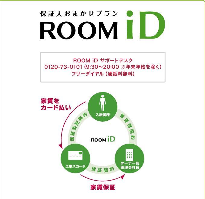 roomiDカード決済