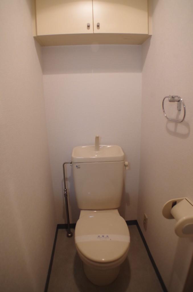 女性の一人暮らし物件_トイレ