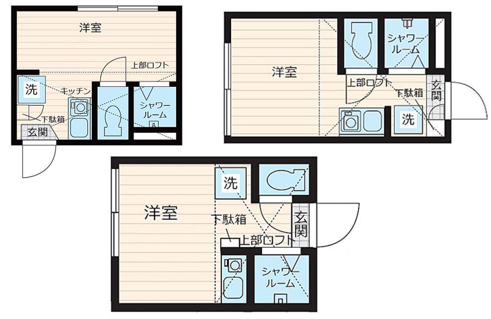 シャワールーム賃貸物件|東京風呂なし狭小ワンルーム
