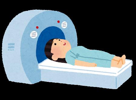 卵巣嚢腫手術 MRI検査